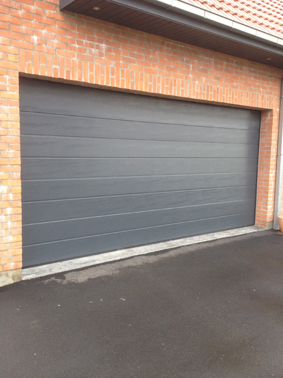 Novoferm noviso novorol novoside dhaze portes de garage - Largeur double porte ...